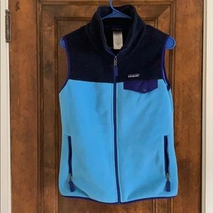 Patagonia synchilla fleece full zip vest